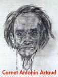 Dessin d'Antonin Artaud